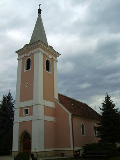 Ikervár templom